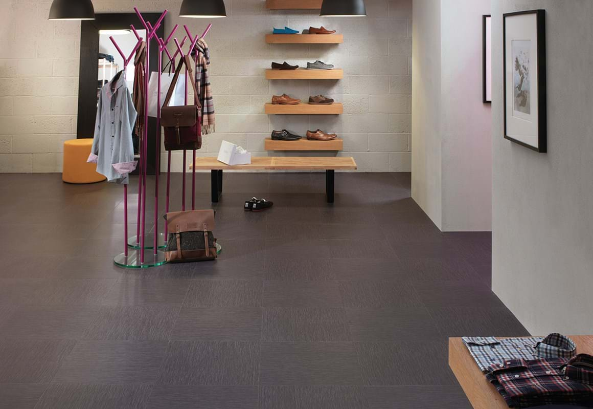 Amtico Access looselay LVT in Urban Line Lead (SX5A5600)
