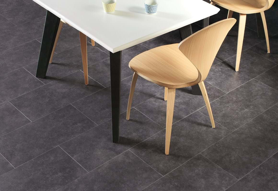 Amtico Click looselay LVT in Urban Stone Graphite (SU5S5803)