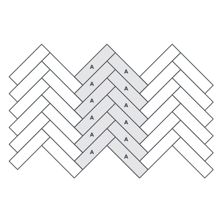 1-colour Large Parquet - EP107 wire image
