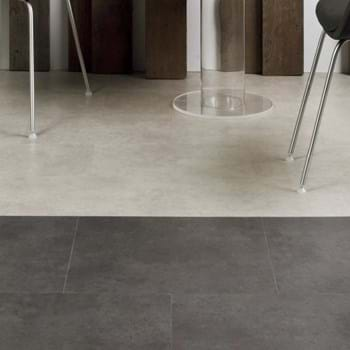 Amtico Spacia LVT in Ceramic Flint (SS5S2594) with Ceramic Ecru (SS5S3592)